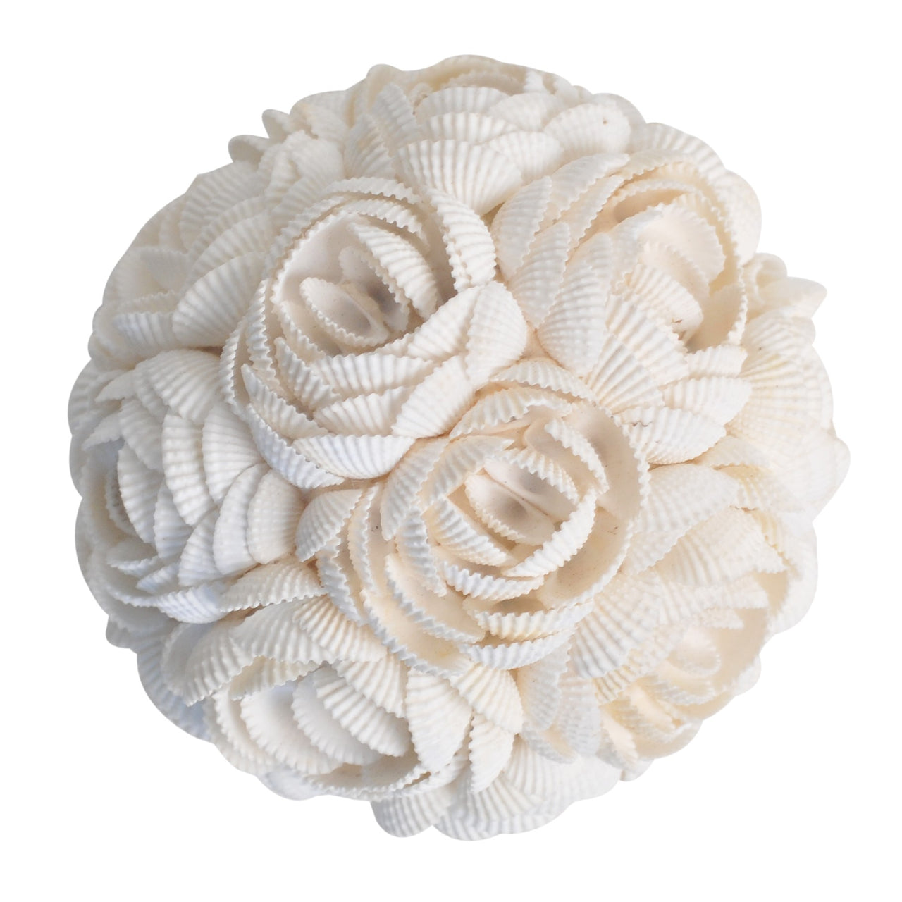 Shell Rose Ball- White