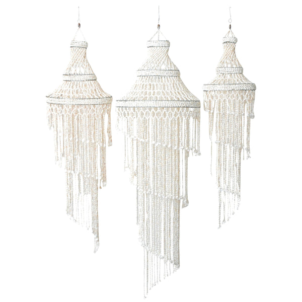 Coastal Shell Chandelier