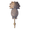 Brass Pineapple Wall Hook- Bronze