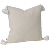Soho Tassel Cushion- Oatmeal