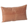 Leather Lumbar Cushion- Tan (PREORDER)