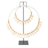 Bali Shell Hoop on Stand