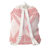 Malibu Boho Backpack- Coral