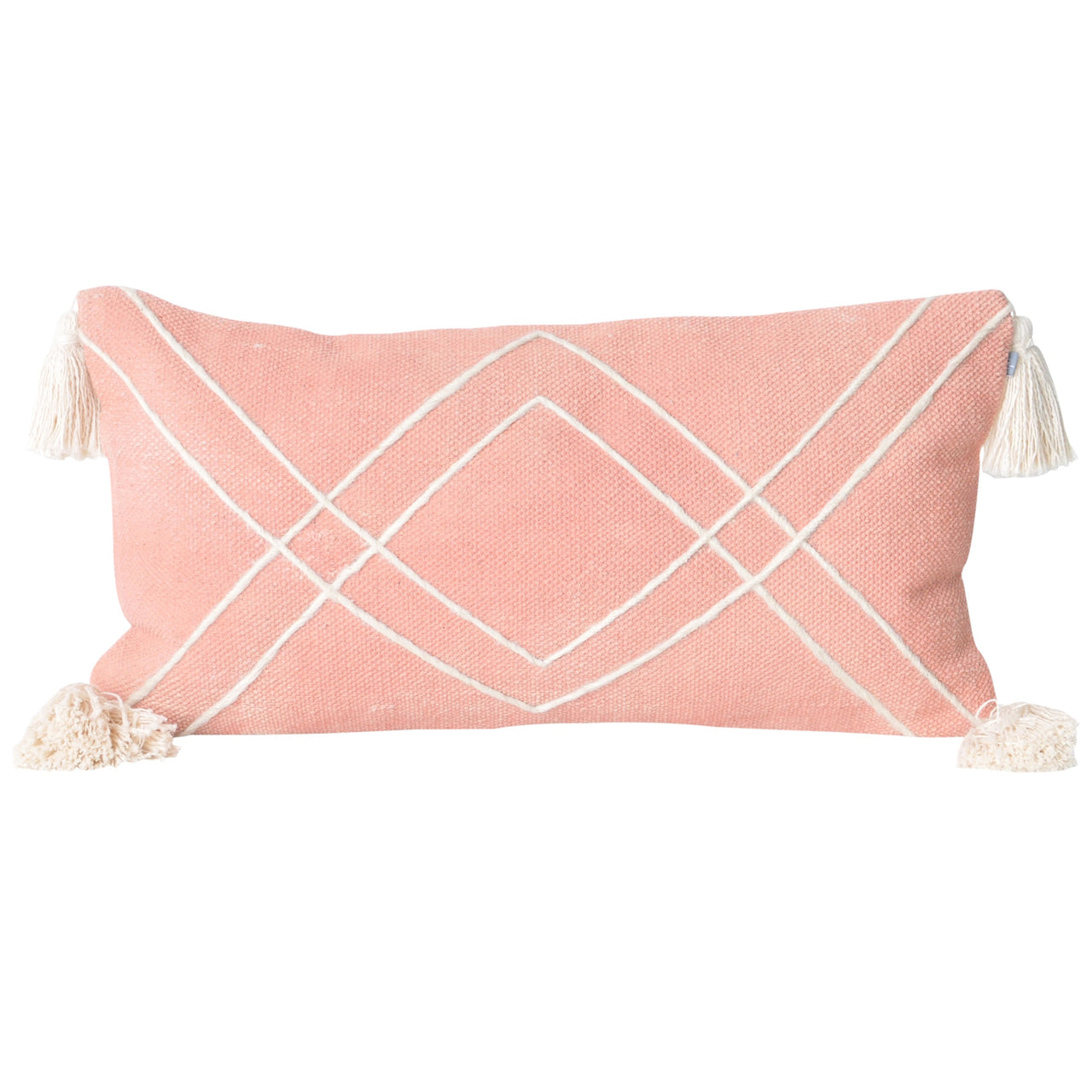 Boheme Lumbar Cushion- Coral