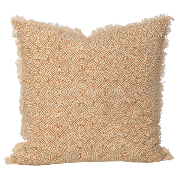 Kiara Cushion- Rust