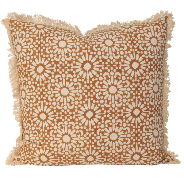 Marigold Cushion- Rust