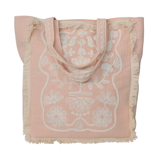 Estelle Tote Bag- Blush