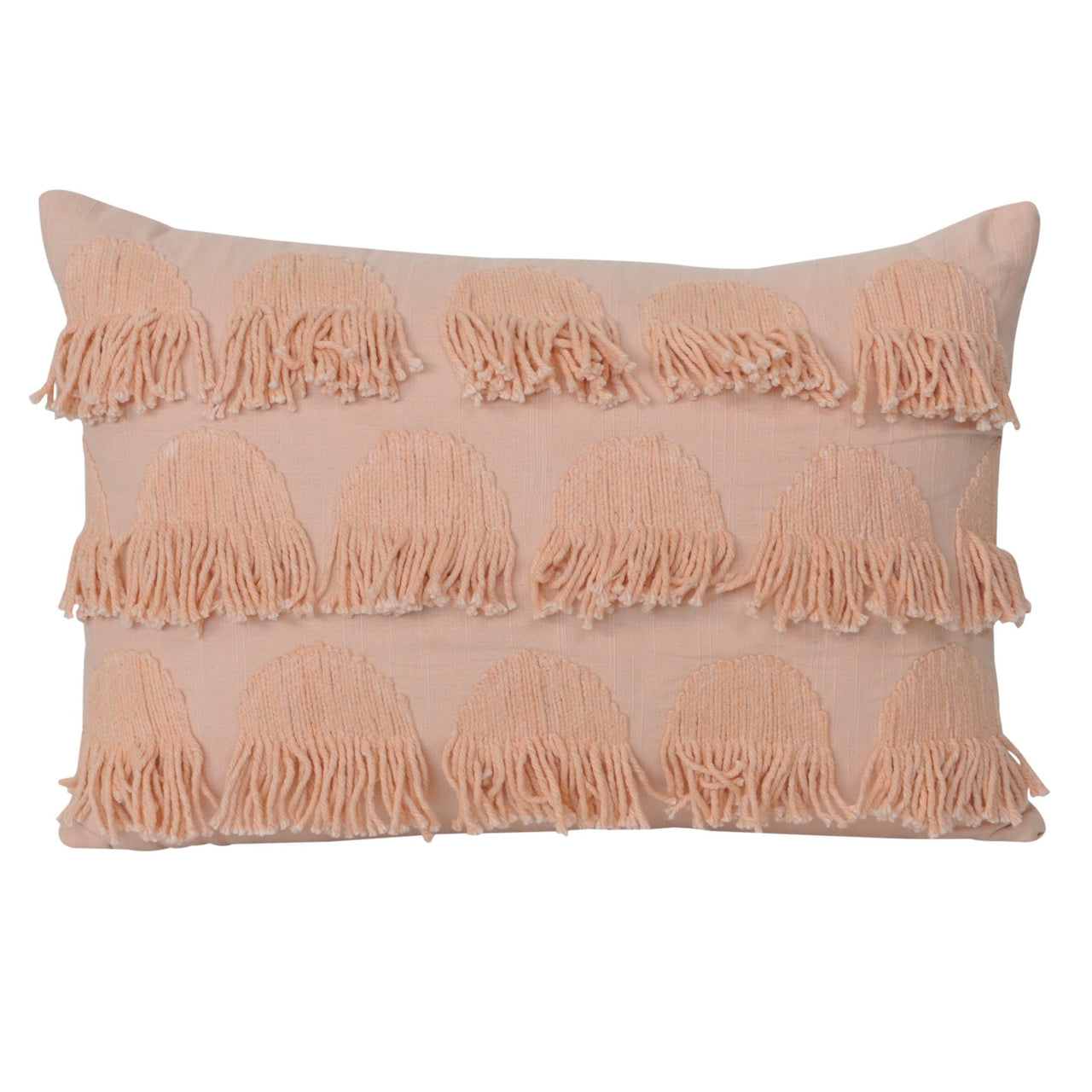 Freya Lumbar Cushion- Peach