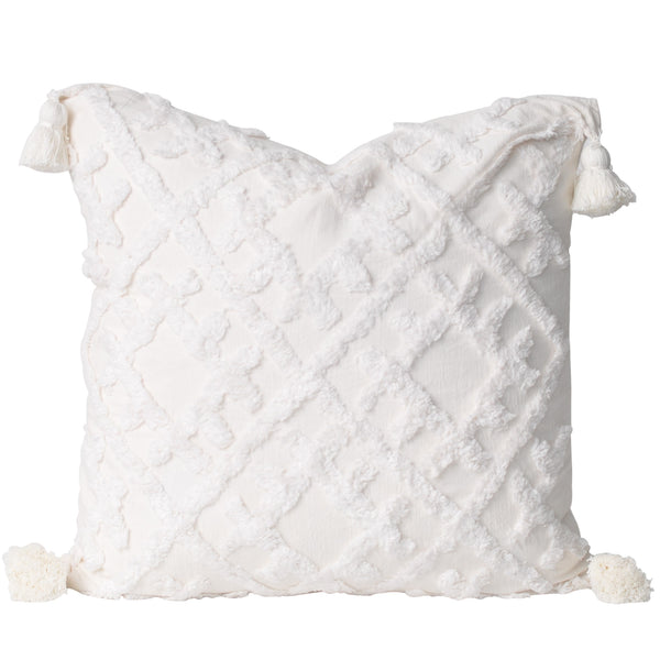 Hyams Cushion- Ivory