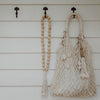Beaded Decorative Tassel- Natural