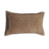 coastal boho bohemian textured natural cushion jute pillow