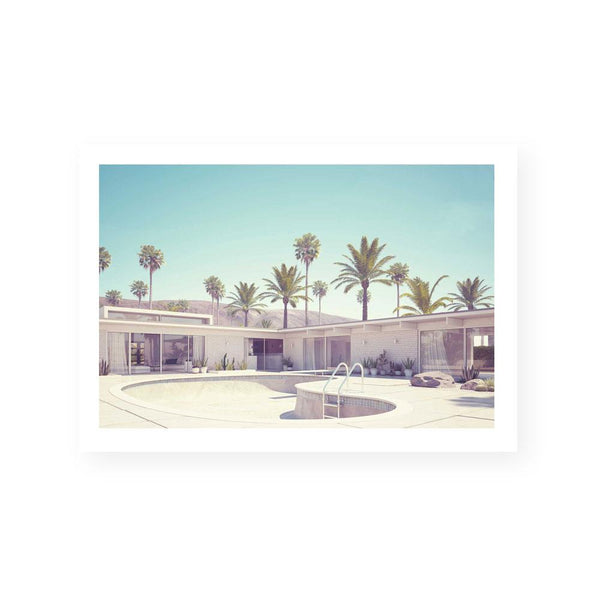 Palm Springs Home Print