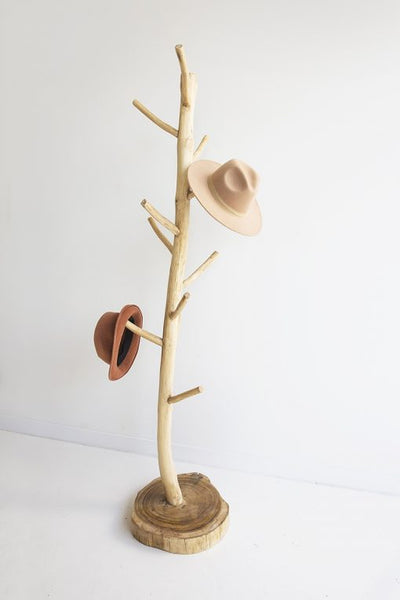 teak hat stand scarf bag stand furniture