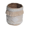 Avalon Boho Basket- White/Natural™️