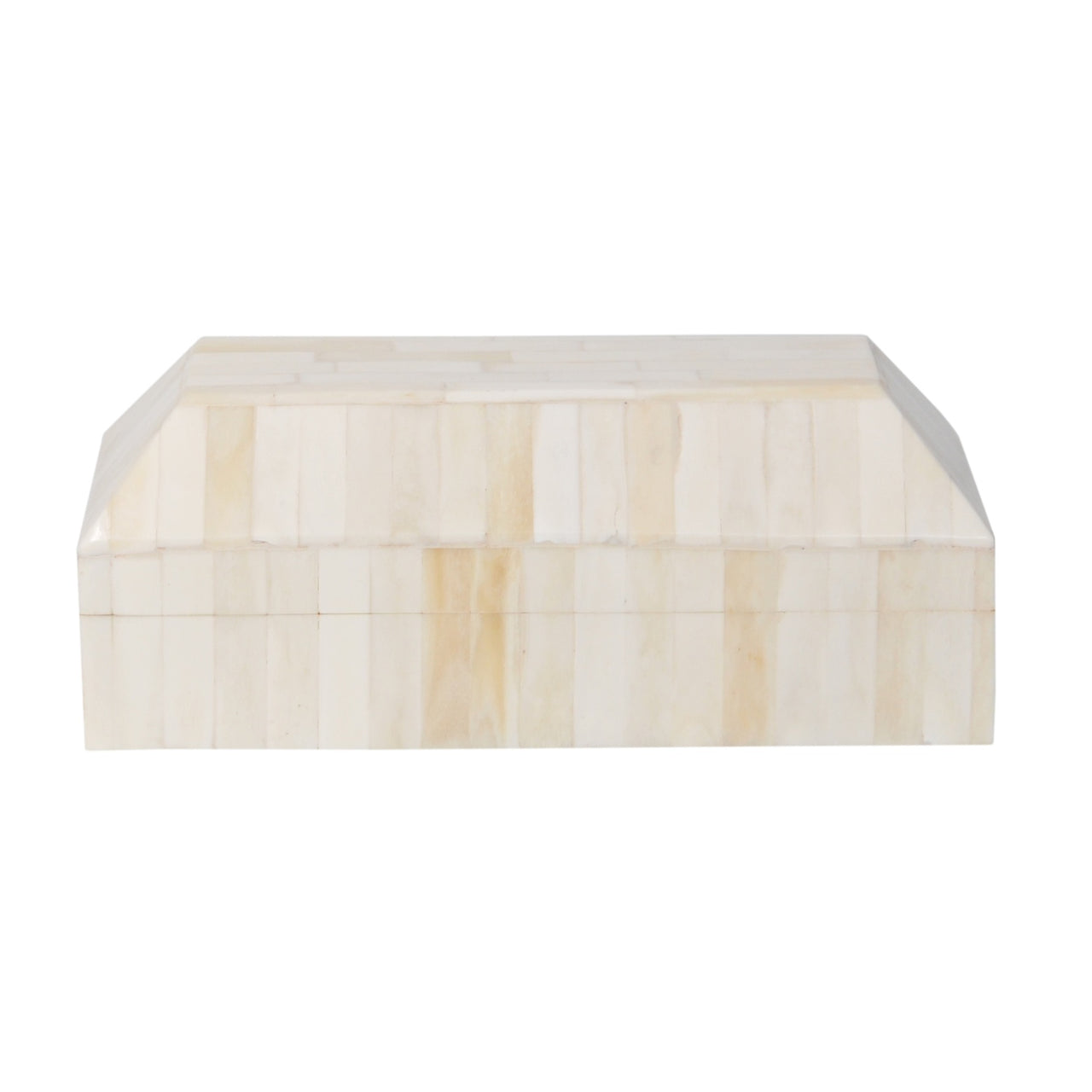 Bone In-Lay Box- Ivory