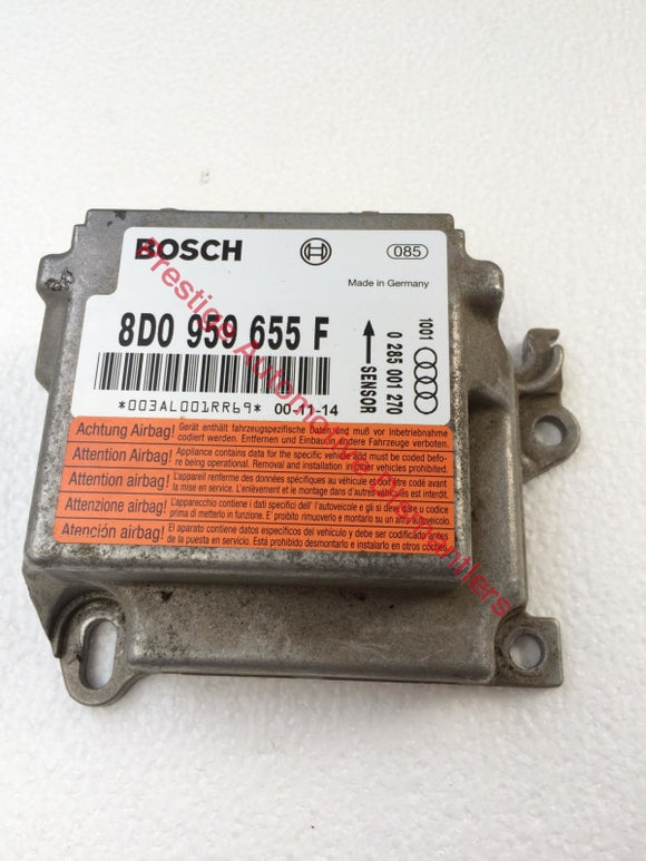 Audi A4 Airbag Control Unit - Part No 8D0959655F Air Bag Parts