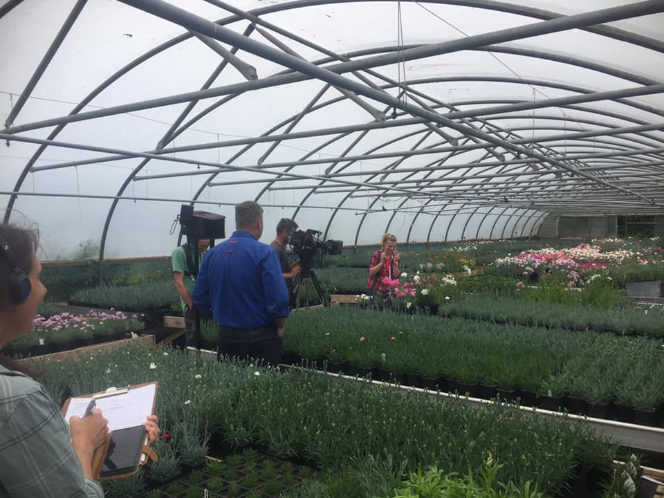 BBC Gardeners World filming