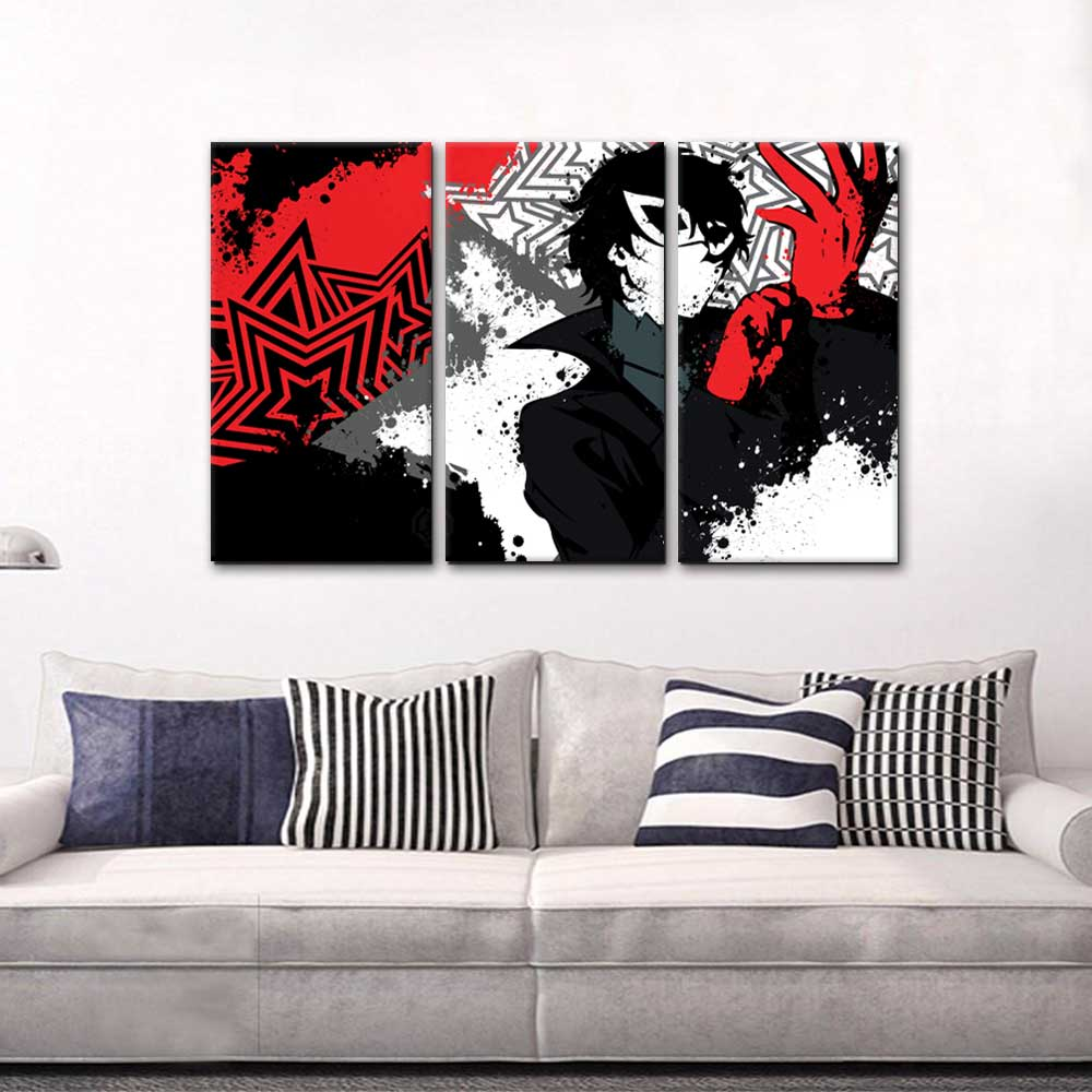 persona5 ad189 3 pieces canvas chinmouse