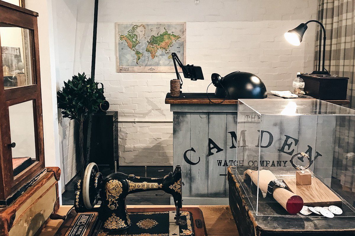 Greenwich Market: Camden Watch Co's New Home!