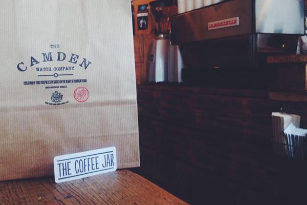 Click & Collect at The Coffee Jar Camden