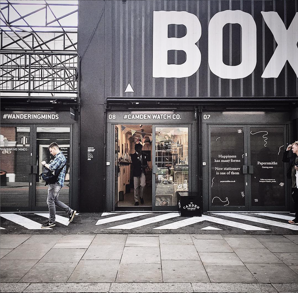 Camden Watch Company at Boxpark