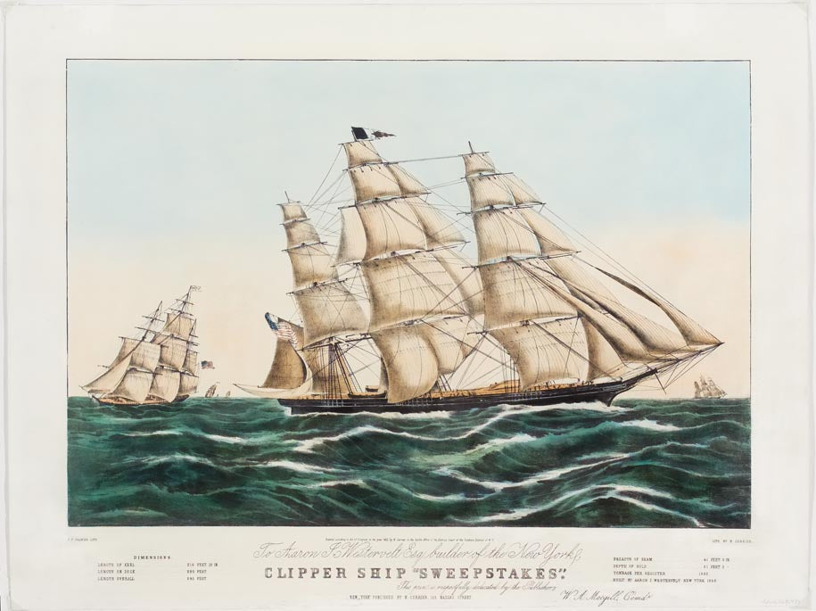 Sweepstakes clipper ship tattoo