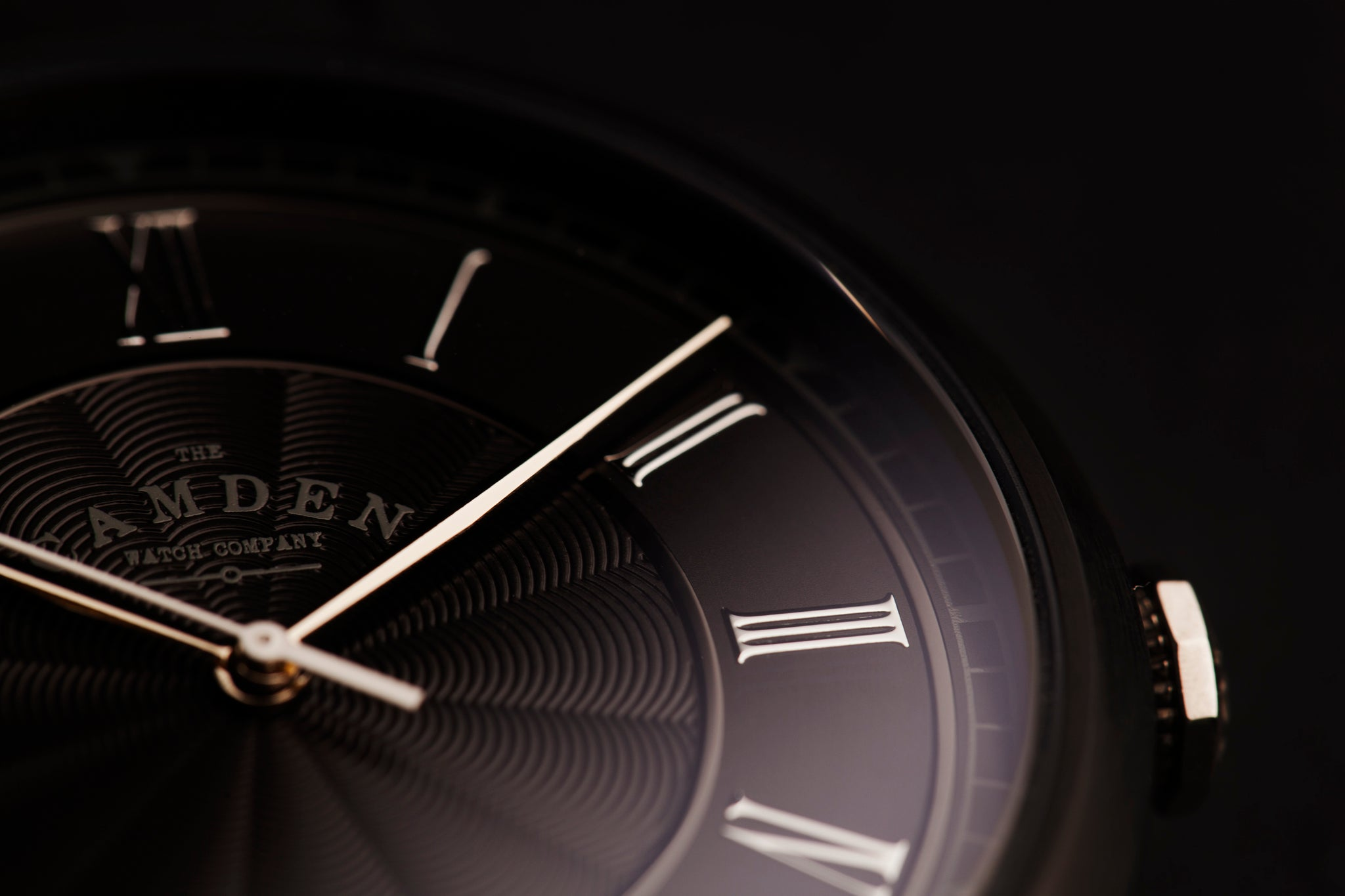 Camden Watch Company Automatic design black