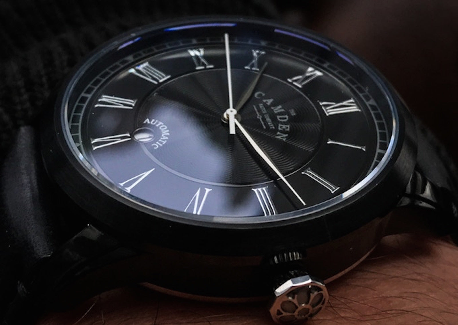 Camden Watch Company Automatic Black