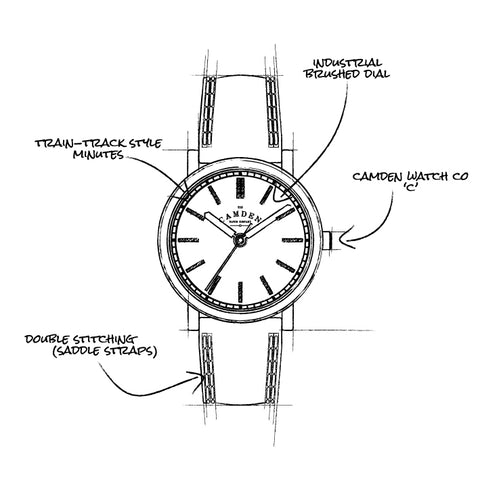 Camden Watch Company No.24 Sketch