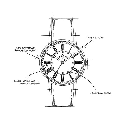 Camden Watch Co No.27 Sketch
