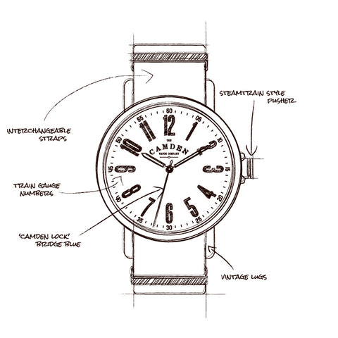Camden Watch Co No.88 Sketch