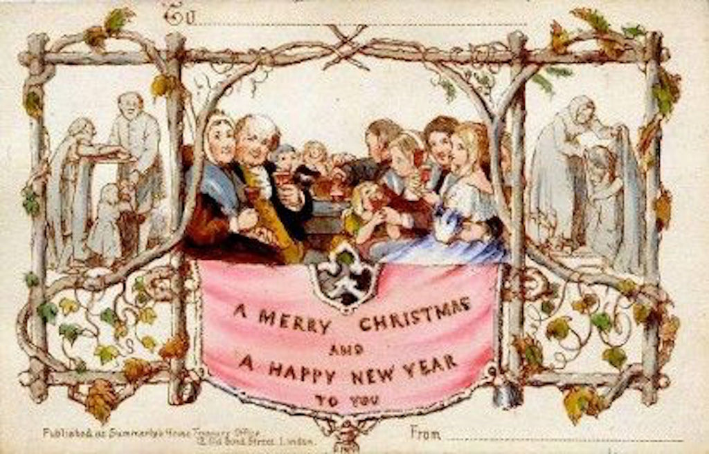 First-Victorian-Christmas-Card