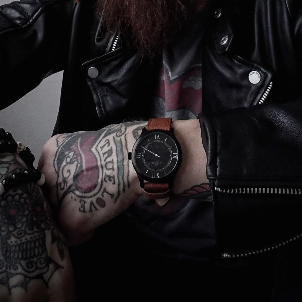 british watch brand tattoo memento mori