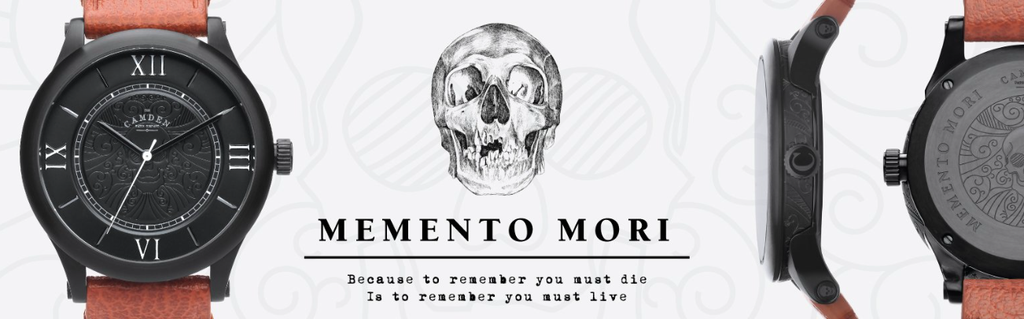 memento mori watch british skull