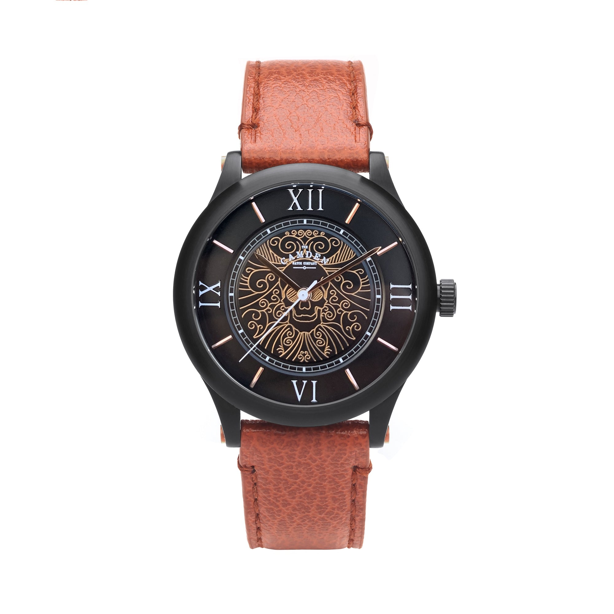 No.253 Memento Mori Rose Gold and Tan