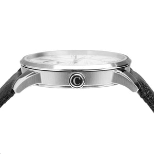 Camden Watch Company Mens Watch Steel and Black Side