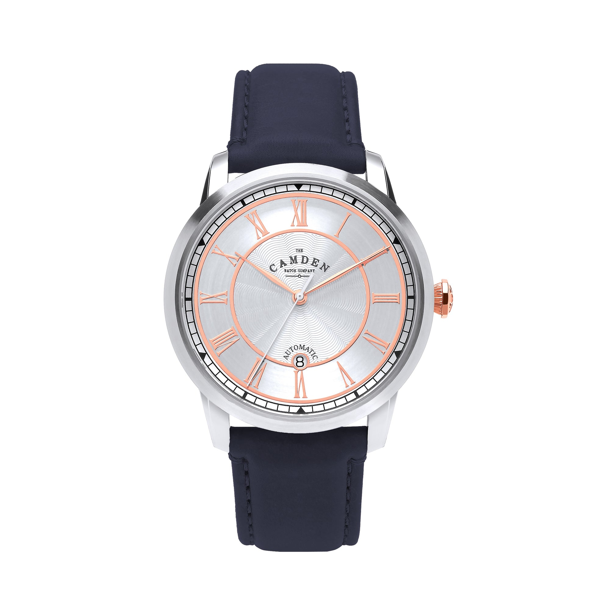No.29 Automatic Steel, Rose Gold and Navy