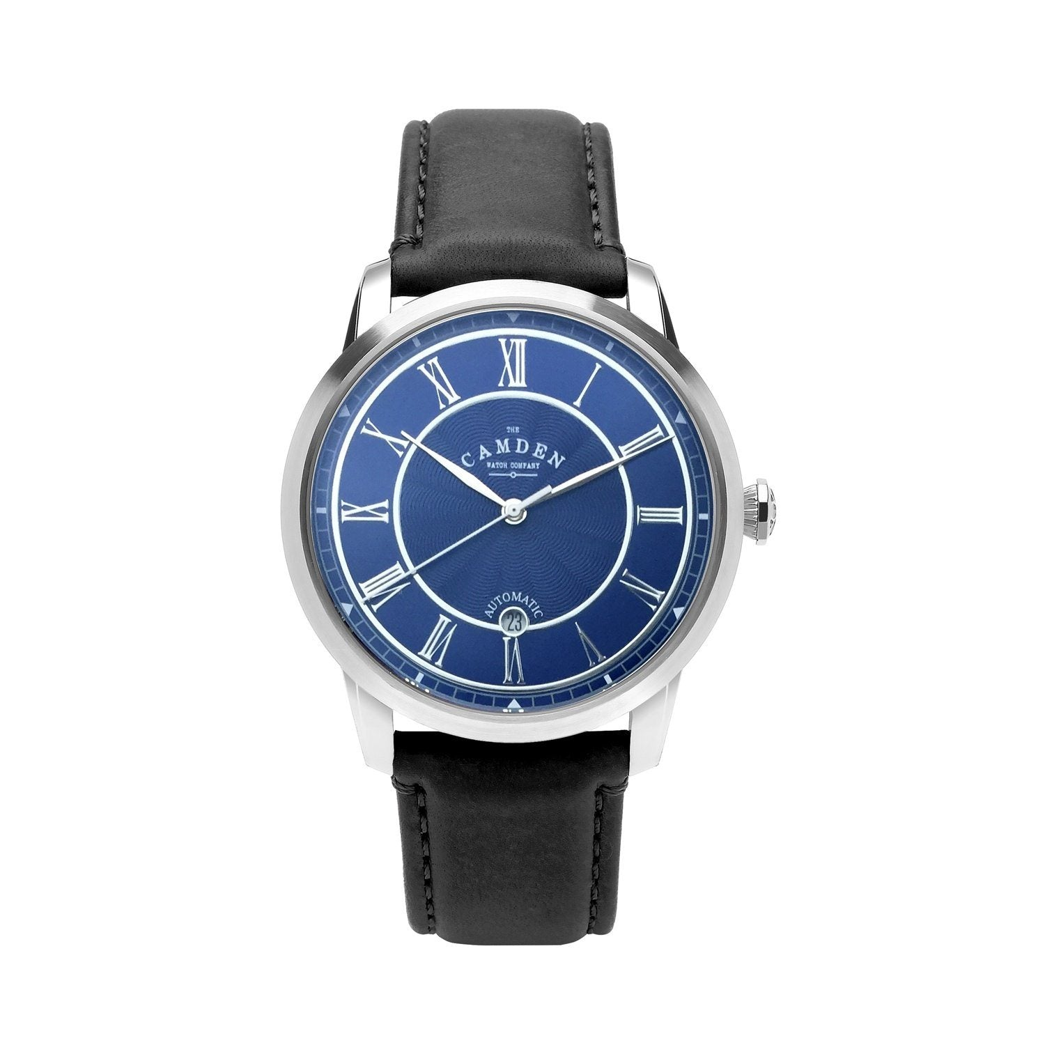 No.29 Automatic Steel, Navy and Black