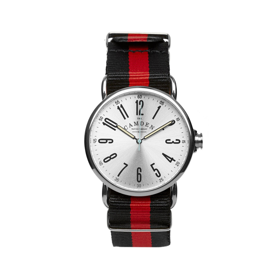 SMALL No.88 Steel and Red & Black Nato
