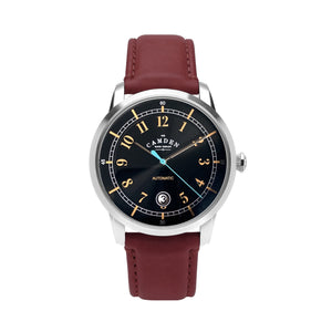 No.29 Type II Automatic Steel and Oxblood