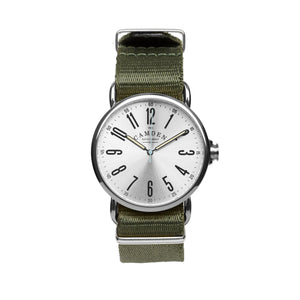 SMALL No.88 Steel and Green Nato