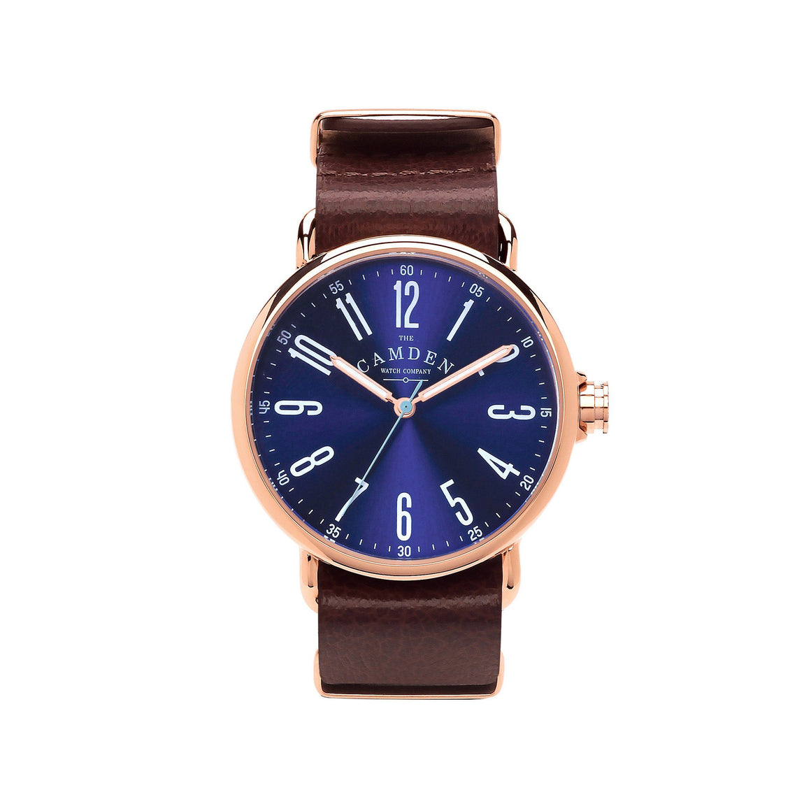 No.88 Unisex Watch Rose Gold and Navy