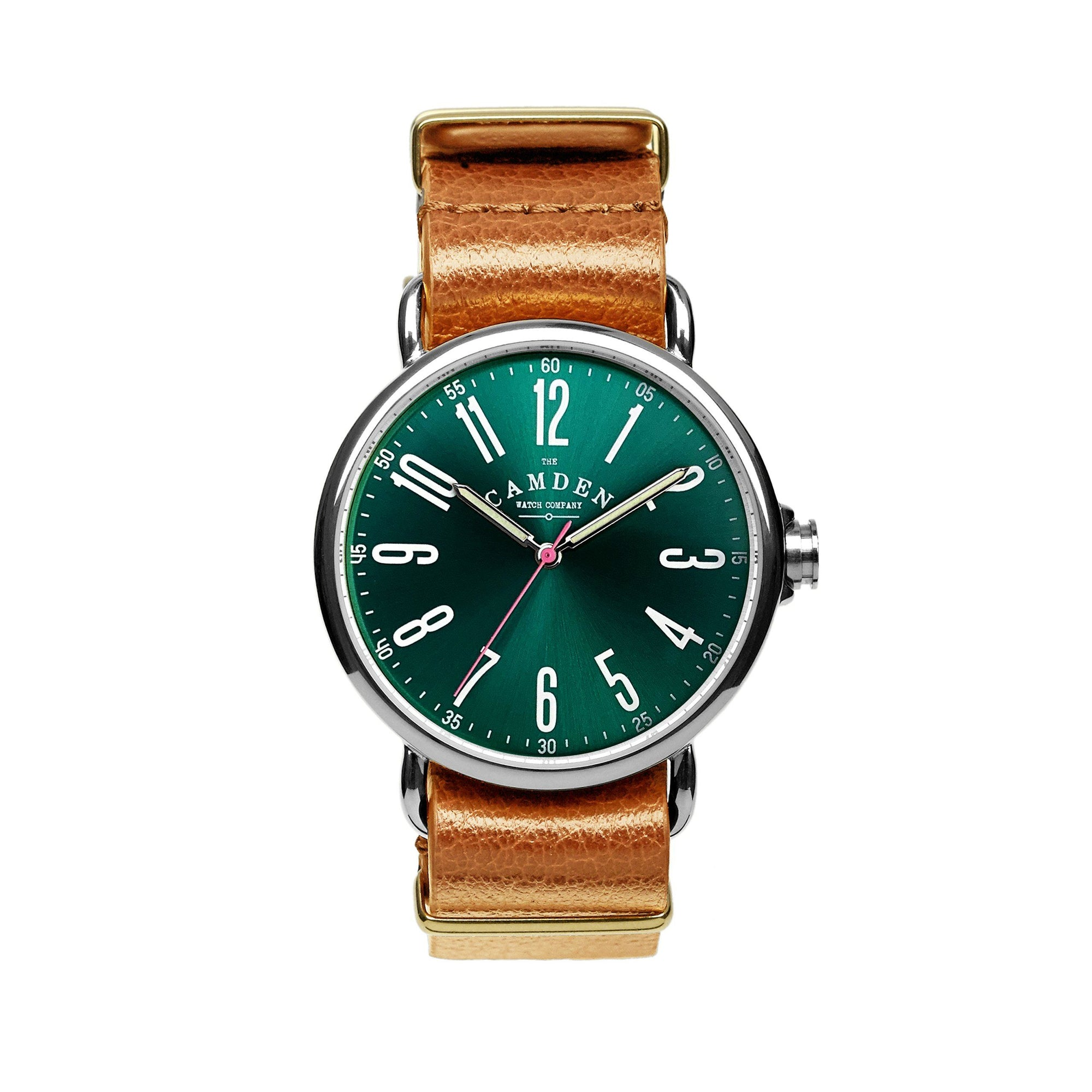 No.88 Design Lab Steel, Green and Tan