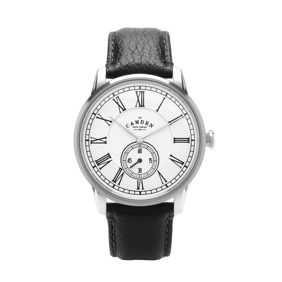 Camden Watch Company Mens Watch Steel and Black