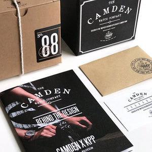 The Camden Watch Company KPP Packaging