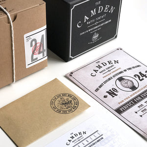 The Camden Watch Company No.24 Packaging