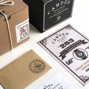The Camden Watch Company No.253 Packaging