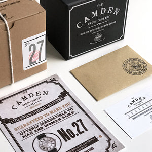 The Camden Watch Company No.27 Packaging