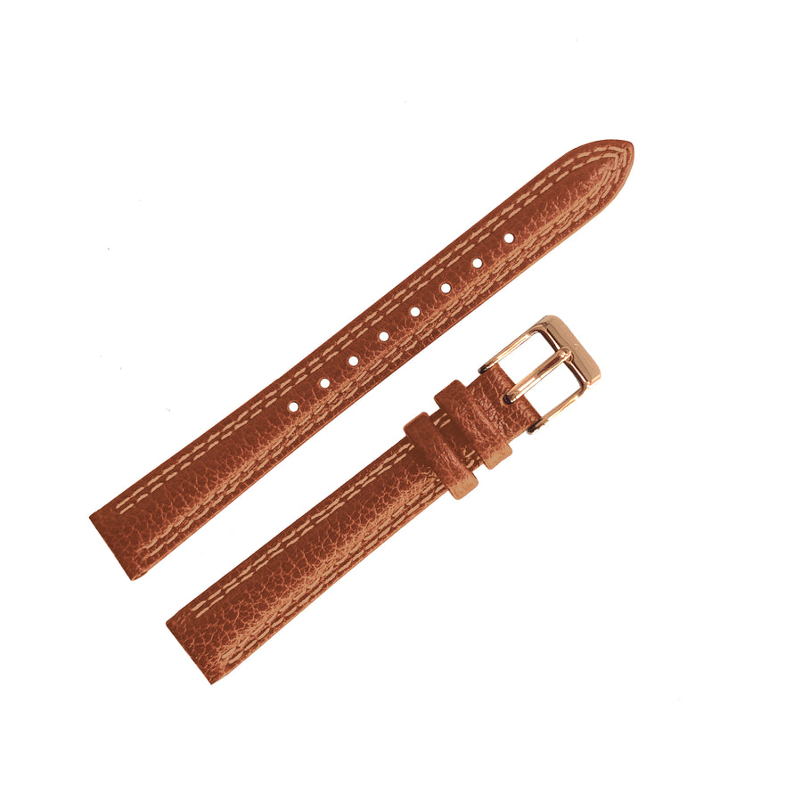 No.24 Tan and Rose Gold Strap