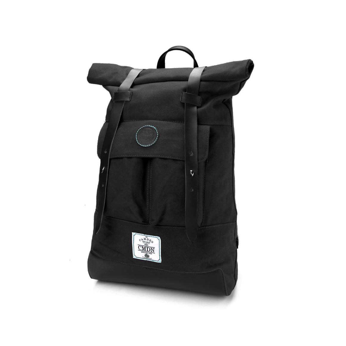 Backpack - Black Waxed Canvas Backpack